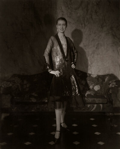 Edward Steichen, 'The Photographers Favorite Model, Marion Morehouse in Cheruit Gown, NY', 1927