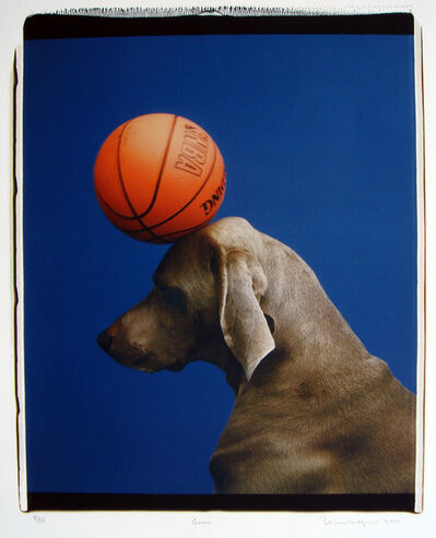 William Wegman, 'Game', 2000