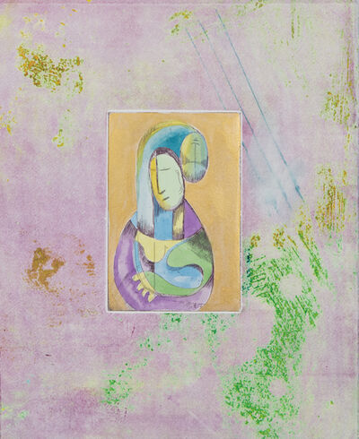 Alexandra Nechita, 'Time is Contagious (lavender).', 2018