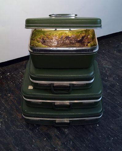 """Kathleen Vance, 'Traveling Landscape, """"Green Stack""""', 2021"""