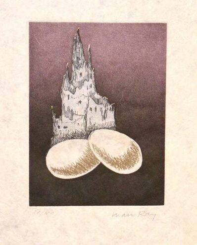 Man Ray, 'Une Cathedrale', 1968