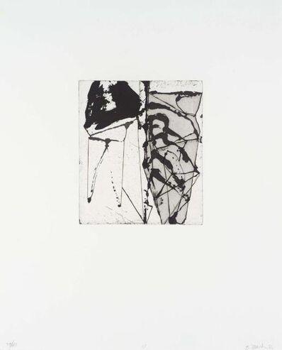 Brice Marden, 'Etching to Rexroth #15', 1986