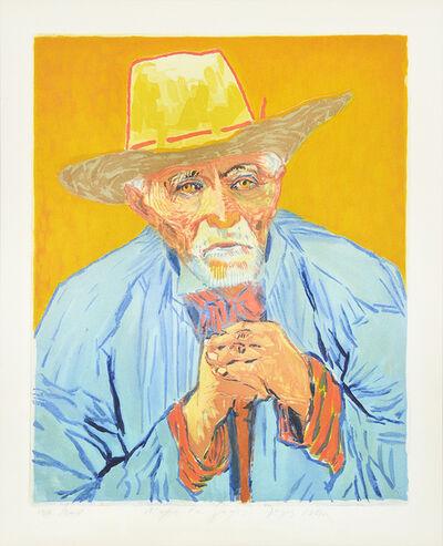 Jacques Villon, 'Le Paysan (The Peasant), After Van Gogh', 1927