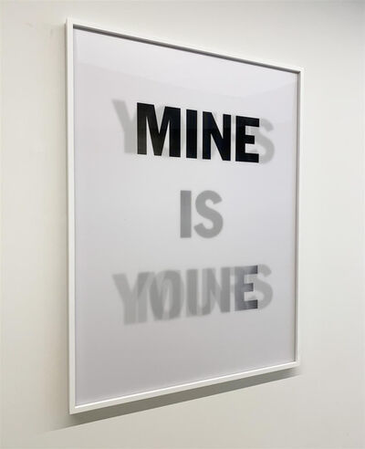 Hank Willis Thomas, 'Mine is Yours, Yours and Mine (WHITE)', 2019