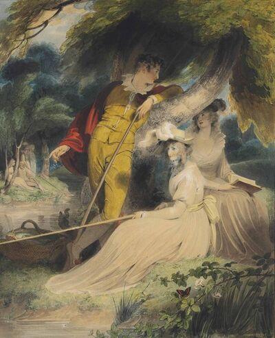 Richard Westall, 'Strephon and Phyllis'
