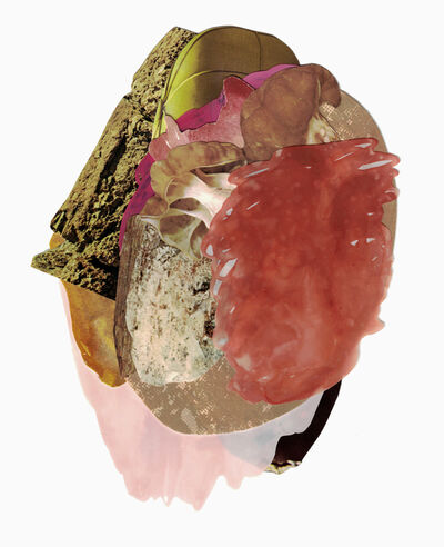 Xochi Solis, 'One of her hands hidden behind her back', 2019