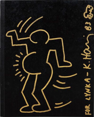 Keith Haring, 'Untitled (Portrait of Lynka Pregnant)', 1983