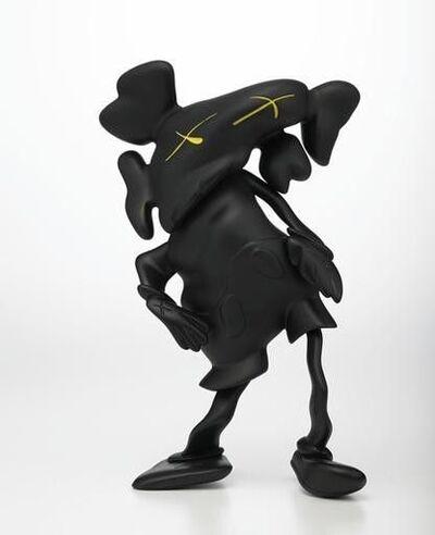 KAWS, 'DISTORTED COMPANION BLACK', 2010