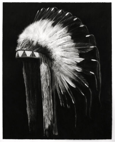 Robert Longo, 'Study of Plains Indians (Lakota Tribe)', 2019
