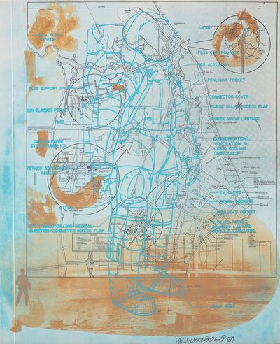 Robert Rauschenberg, 'Trust Zone, from Stoned Moon Series', 1969