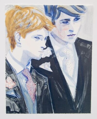 Elizabeth Peyton, 'William and Harry', 2000