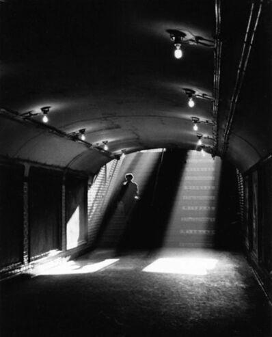 Sabine Weiss, 'La sortie de metro, Paris', 1955 (printed later)
