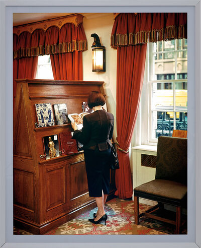 Jeff Wall, 'A woman consulting a catalogue', 2005