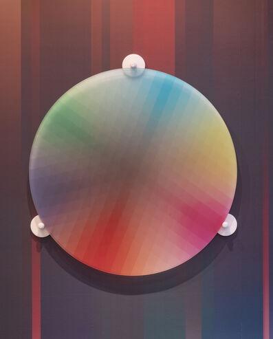 Felipe Pantone, 'Subtractive Variability Circular 2', 2018