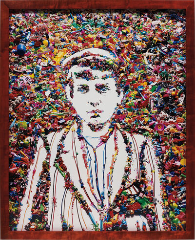 Vik Muniz, 'Newsboy, After Lewis Hine', 2008