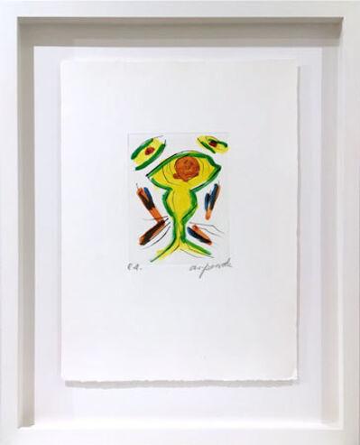 A.R. Penck, 'Guardian (green ) - Der Wächter (grün)', 1997