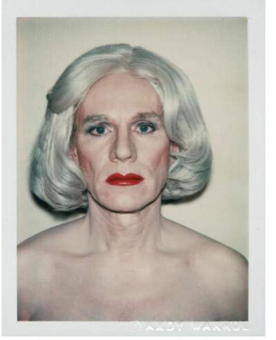 Andy Warhol, 'Andy Warhol, Polaroid Photograph, Self-Portrait in Drag (Andy Warhol in Drag), 1981', 1981
