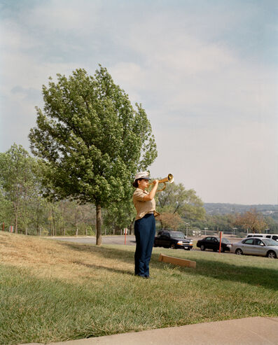 Gregory Halpern, 'Julia, Reserve Officer Training Corps, Omaha, NE', 2005-2018