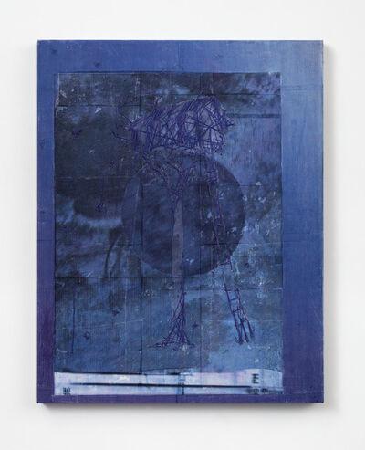 Michael Raedecker, 'flag', 2017