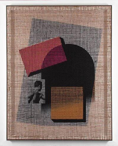 """David Renggli, '""""Floorplan Desire Painting (2 square nr. 1)""""', 2015"""