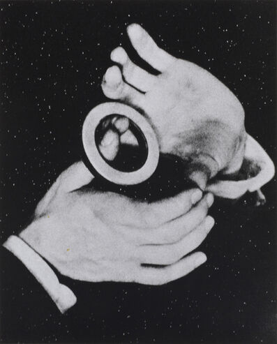Alessandra Spranzi, 'Mani con cerchio (L'insieme è nero)', 2020
