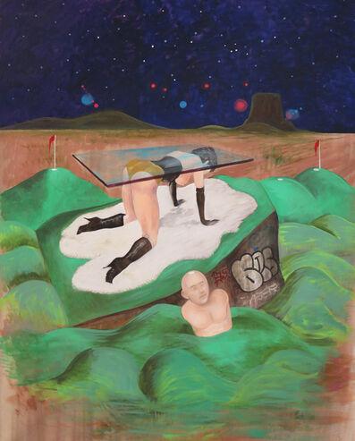 Noah Becker, 'Midnight at the Mini Golf', 2020
