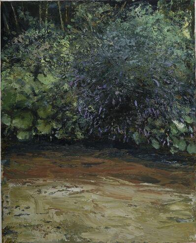 Donald Teskey, 'Riverbank with Buddleja IV', 2017