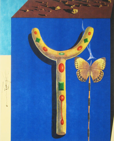 Salvador Dalí, 'Surrealist Crutches', 1971