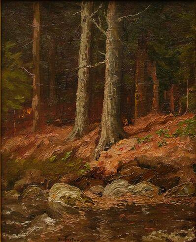 Ben Foster, 'Brook in the Woods', ca. 1910