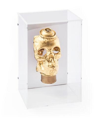 Beejoir, 'Gold Skull', 2008