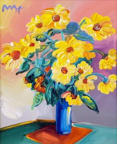 Peter Max, 'Homage to Monet: Sunflowers ', 2014
