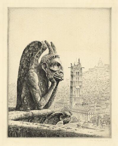 John Taylor Arms, 'Le Penseur de Notre Dame.', 1932