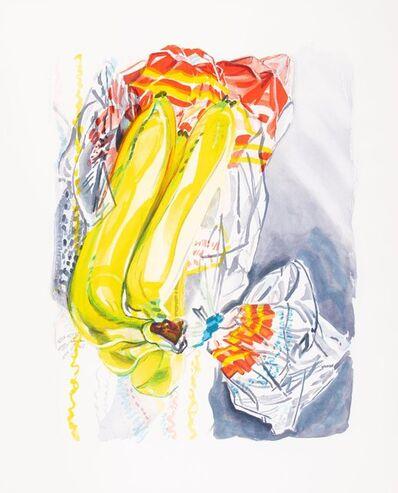 Janet Fish, 'Bag of Bananas', 1996