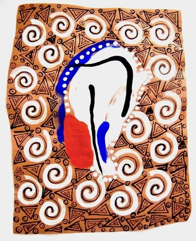 Tamrat Gezahegne, 'Adorned Body (17)', 2016