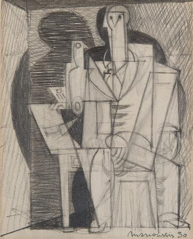 Louis Marcoussis, 'Portrait cubiste', 1930