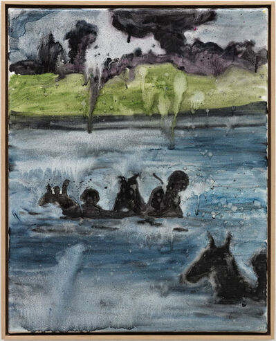 Daniel Richter, 'Ohne Titel', 2003