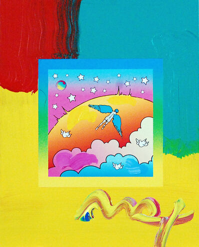 Peter Max, 'Angel Clouds on Blends #402', 2009