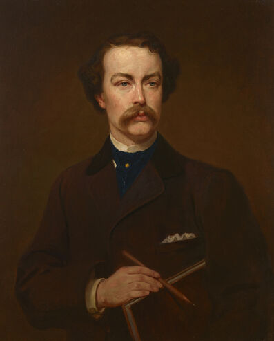 George P. A. Healy, 'Portrait of William Stanley Haseltine', 1871