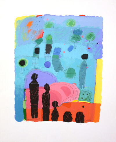 Hashim Hannoon, 'Green Village 2'