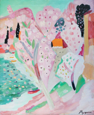 Victor Razgulin, 'Flowering Tree', 2001
