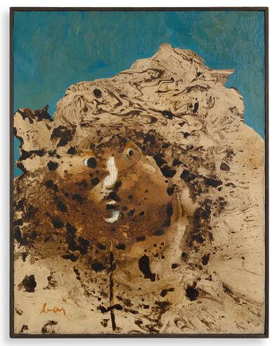 Enrico Baj, 'Personaggio-Testa montagna', 1957