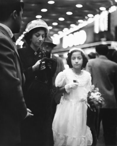 Richard Avedon, 'New York Life #20, 14th Street Subway Station,   New York City, May 16, 1949', 1949