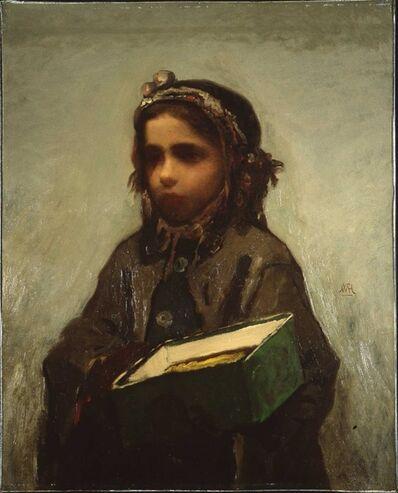 William Morris Hunt, 'Cigar Girl', 1870