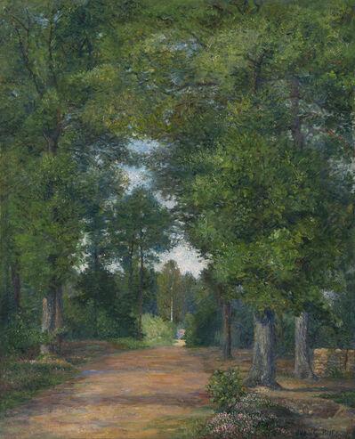 Albert Dubois-Pillet, 'Paysage de forêt à Vigouroux', Unknown