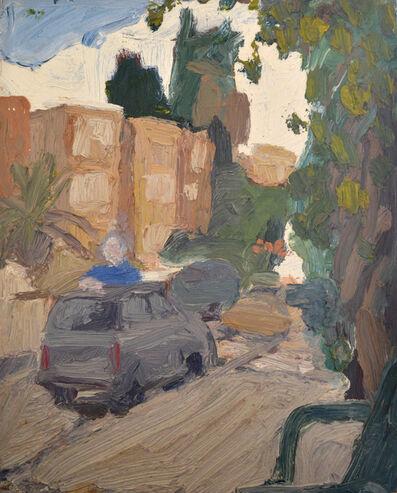 Ben Simon, 'Jerusalem Scene With A Blue Shirt', 2018