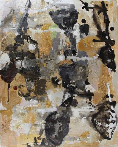 Julia Nee Chu, 'Gold, Black, Silver', 2016