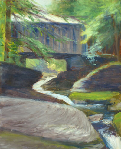 Margaret Leveson, 'Covered Bridge Dry Brook'