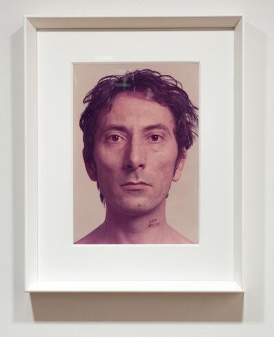 Giovanni Anselmo, 'Lato destro', 1970