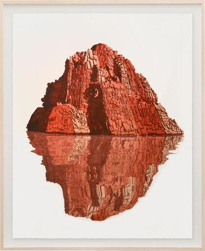 Dagoberto Rodríguez, 'Reflejo Rojo', 2020