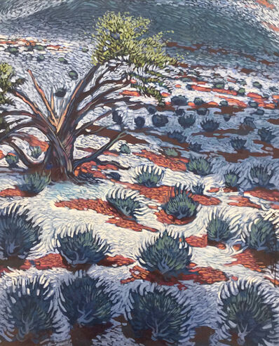 Shonto Begay, 'Lightning Tree', 2017